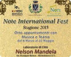Note International Fest - Misterbianco